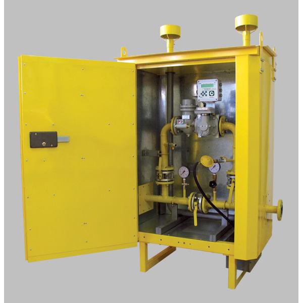 Пункты редуцирования газа ПРДГ-Ш-500 в неотапливаемом шкафу